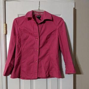 2/$10 Rafaello Pink Jacket. Size 6.